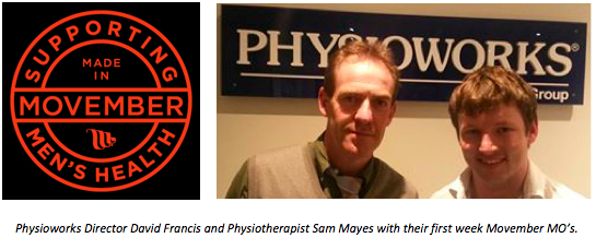 Physioworks Movember